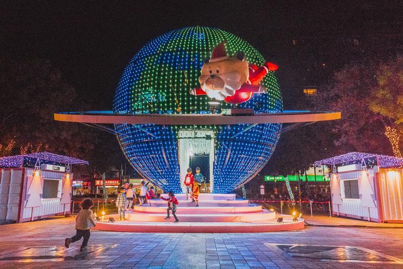 巨型LED球體藝術「迷幻星球」  年度:2018  來源:新北市政府觀光旅遊局
