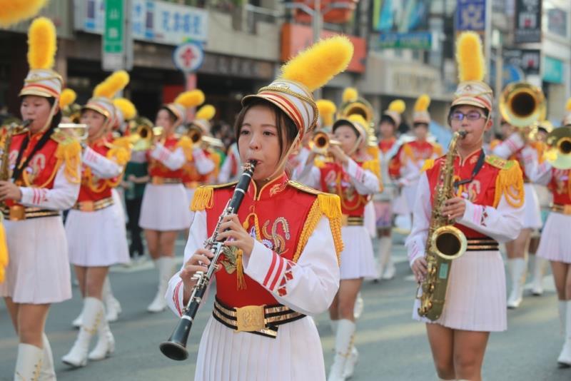踩街嘉年華-北一女中  年度:2017