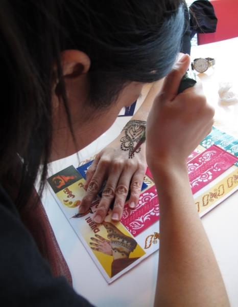 印度月花圈手環DIY  年度:2017