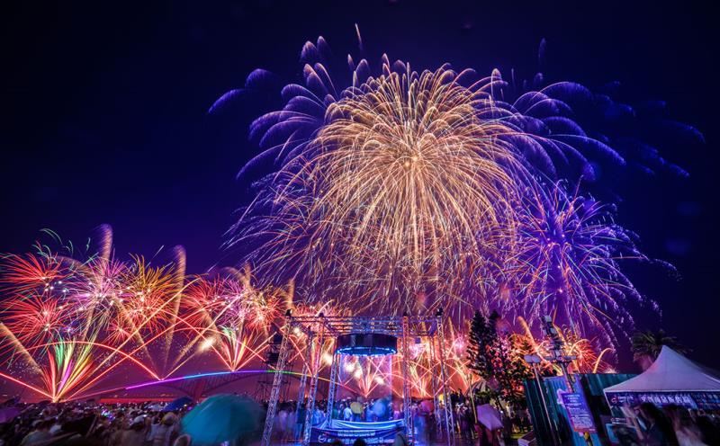 「澎湖國際海上花火節」是澎湖代表性的國際觀光活動  年度:2019  來源:澎湖縣政府