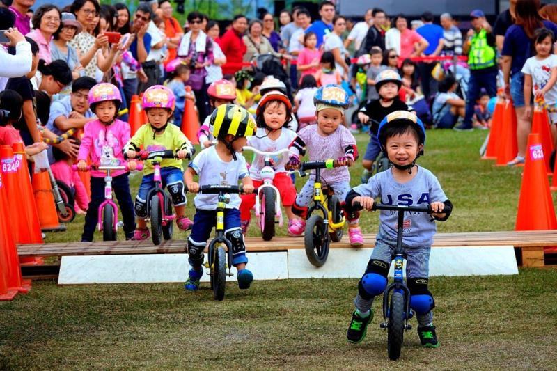 Children's Push Bike Competition