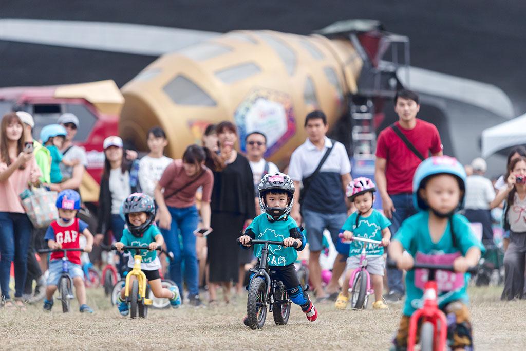 兒童滑步車趣味競賽  年度:2019  來源:日月潭國家風景區管理處