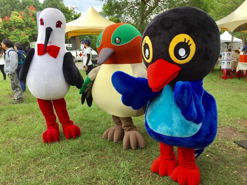 賞鳥博覽會吉祥物  年度:2017