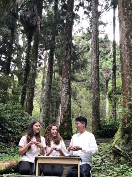 國際茶文化交流  來源:阿里山國家風景區管理處