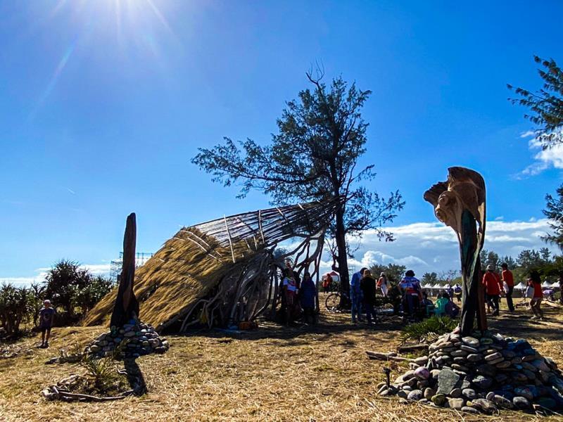 駐地藝術家與作品「Masi'ac」  年度:2019  來源:交通部觀光局東部海岸國家風景區管理處