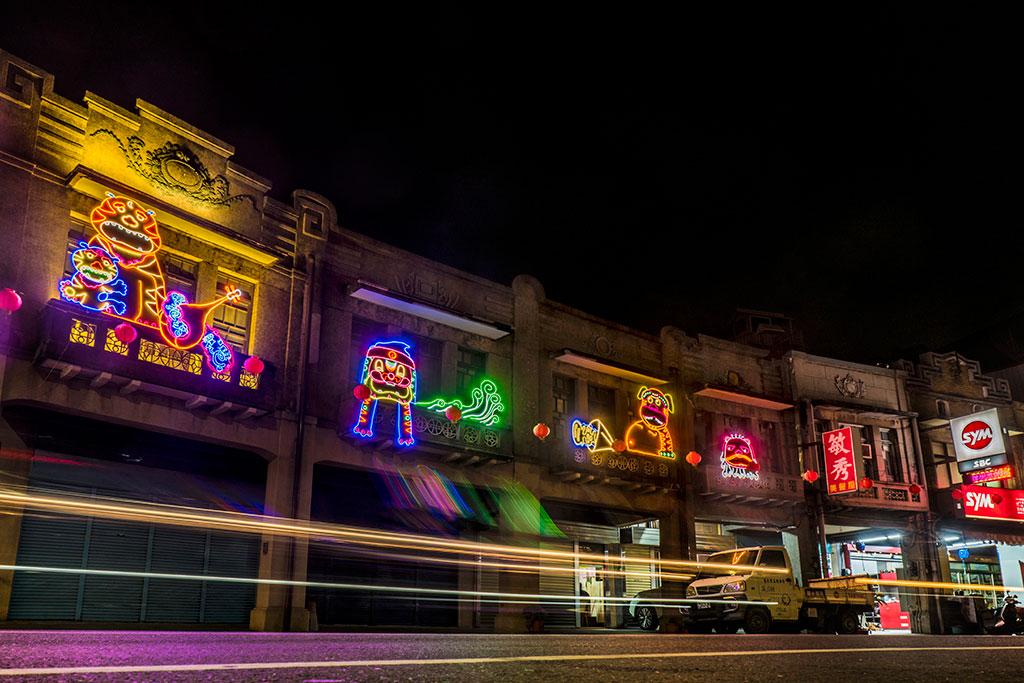 巷弄燈區-光陰使者  年度:2019  來源:臺南市政府