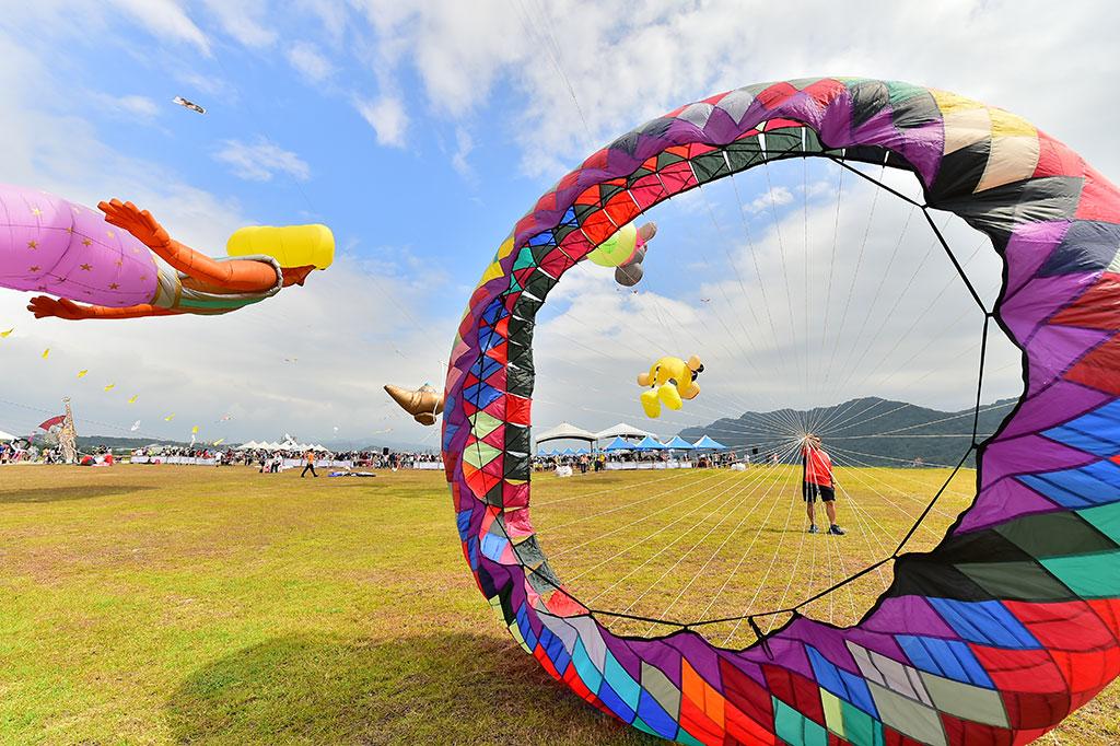 轉輪風箏  年度:2019  來源:桃園市政府觀光旅遊局