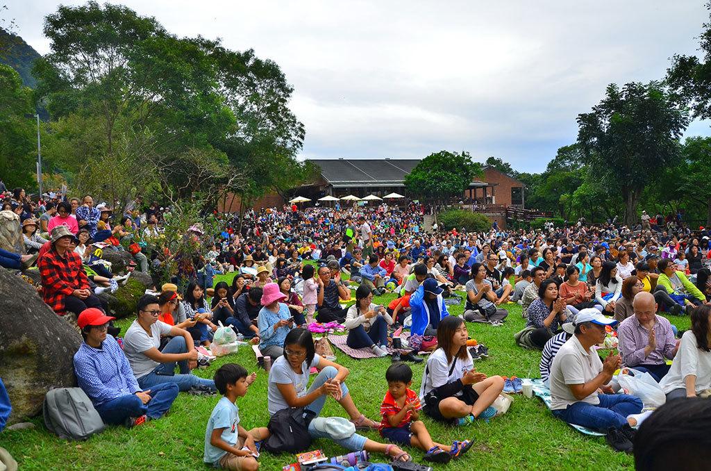 滿場觀眾沉浸在優美的音樂中  年度:2018  作者:林茂耀  來源:太魯閣國家公園管理處