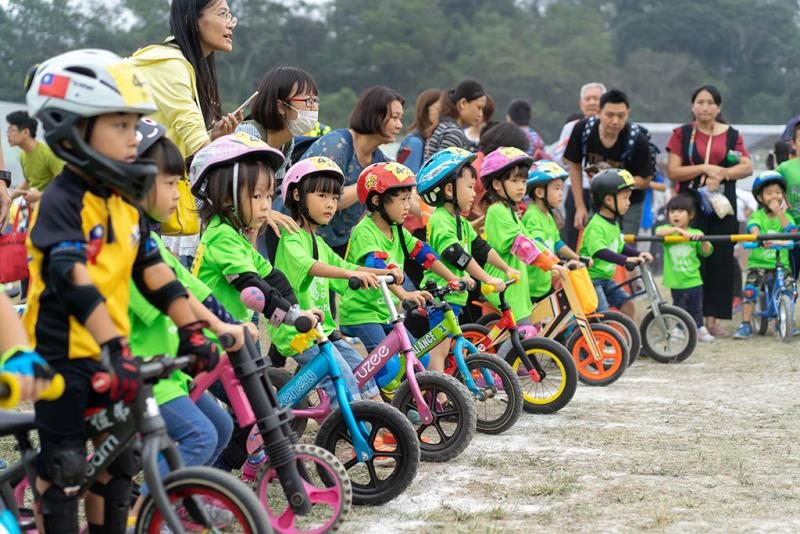 兒童滑步車趣味賽  年度:2018  來源:日月潭國家風景區管理處