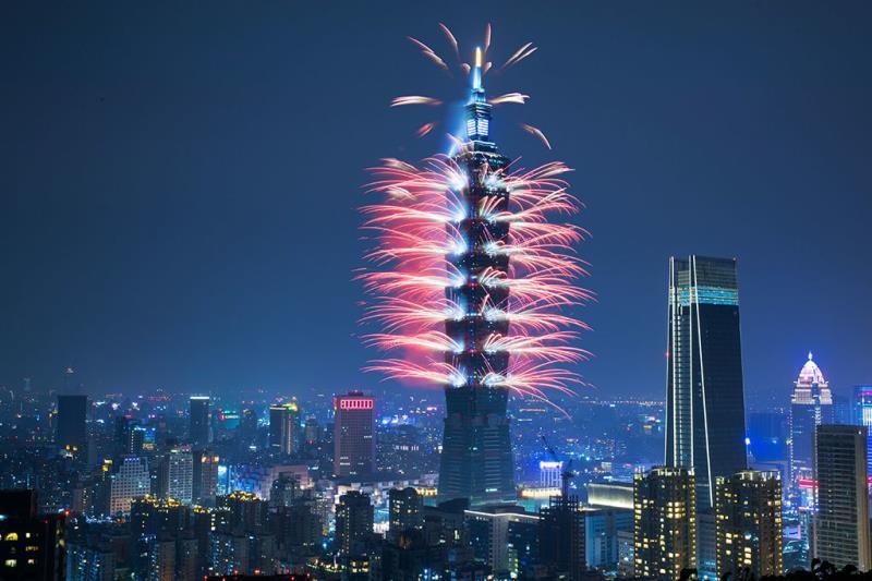 Taipei 101 Fireworks - Xiangshan