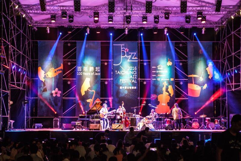 臺中爵士音樂節  年度:2016