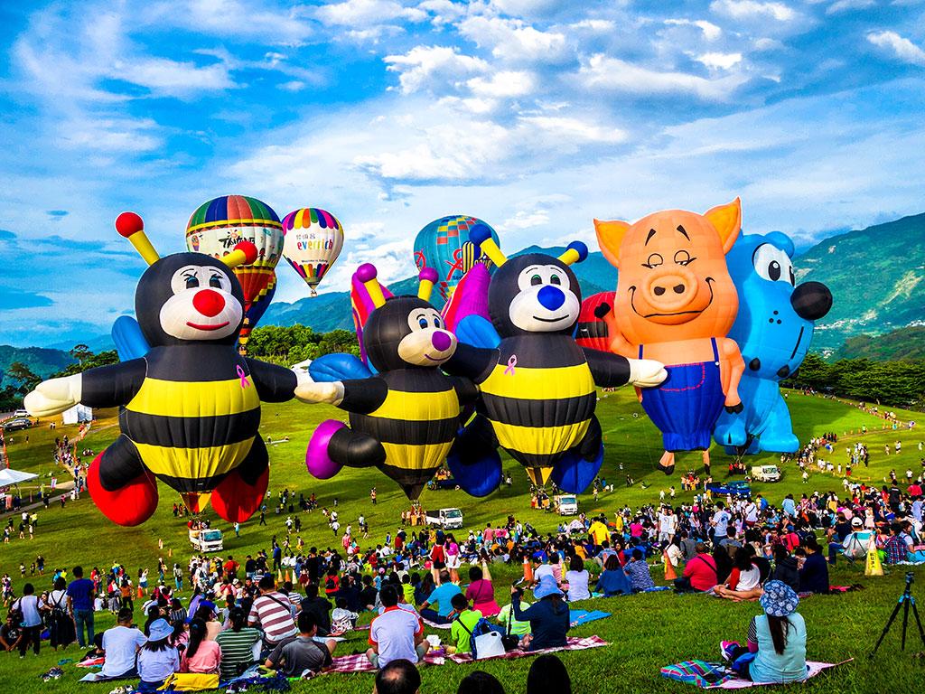 鹿野高台造型球亮相  年度:2019  來源:臺東縣政府