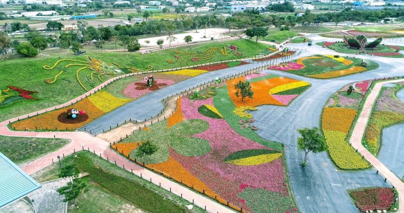 臺中國際花毯節  年度:2017  來源:臺中市政府觀光旅遊局