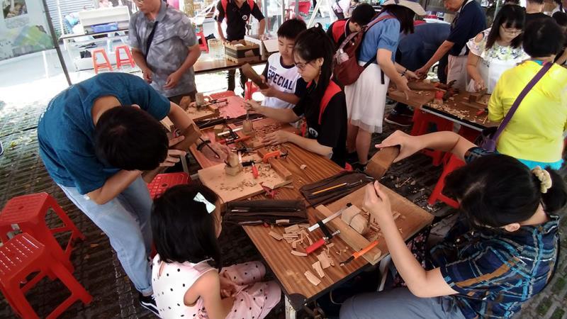 木藝體驗活動  年度:2019  來源:苗栗縣政府文化觀光局