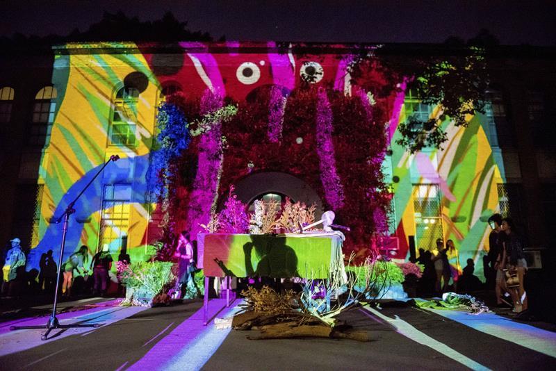 Noche blanca de Taipei  Período annual:2017  Origen de las fotografías:Oficina Cultural del Gobierno municipal de Taipei