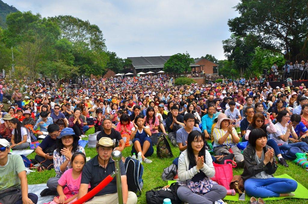 滿場的觀眾  年度:2017  作者:林茂耀  來源:太魯閣國家公園管理處