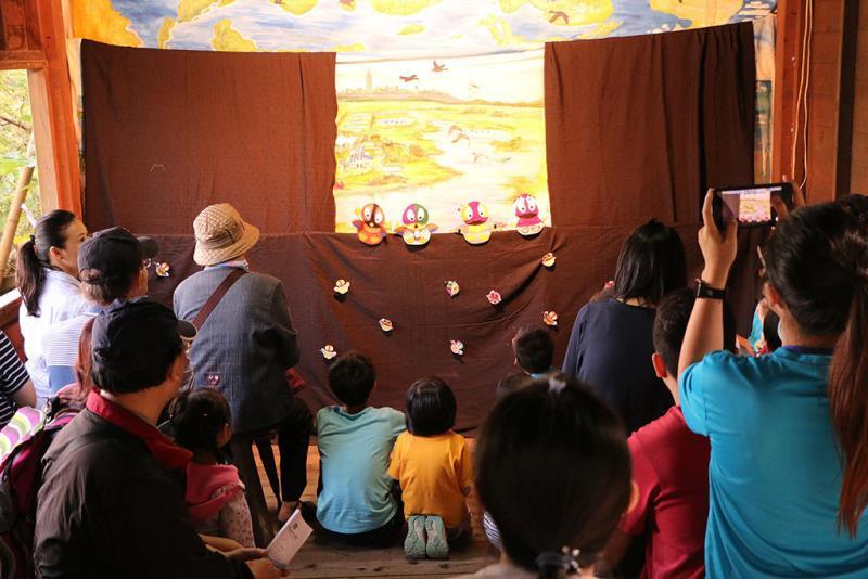 令人印象深刻的手偶劇場  年度:2018  來源:社團法人台北市野鳥學會提供