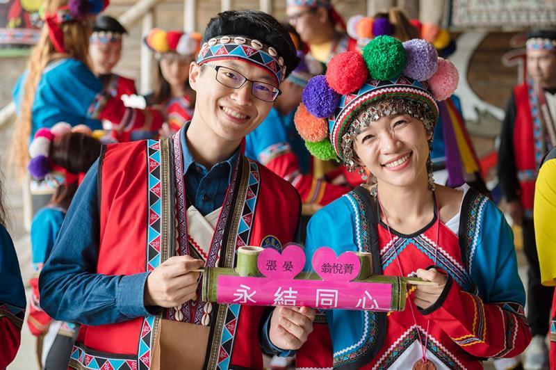 鄒族婚禮體驗  年度:2019  來源:阿里山國家風景區管理處