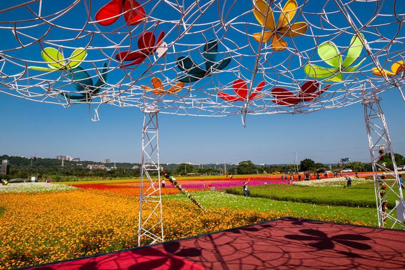 與花共舞  年度:2019  來源:桃園市政府觀光旅遊局
