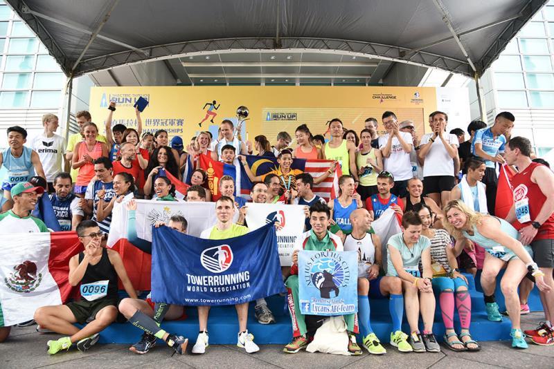 各國菁英選手賽後開心上台合照  年度:2018  來源:台北101