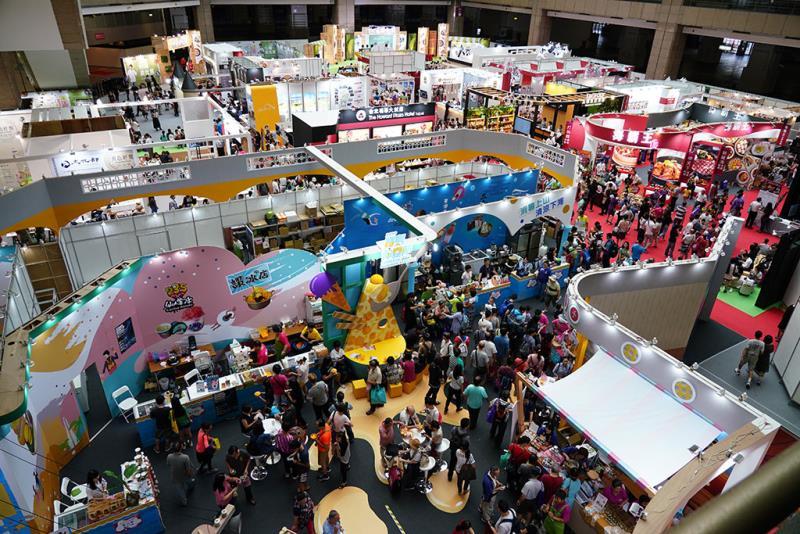 台灣美食展大受歡迎,現場人潮滿滿  年度:2019  來源:財團法人台灣觀光協會