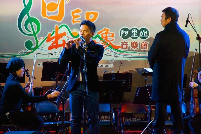 舒米恩開場表演  年度:2019  來源:林務局嘉義林區管理處