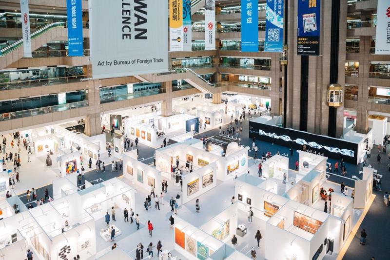 2017 Art Taipei 臺北國際藝術博覽會_展場俯瞰