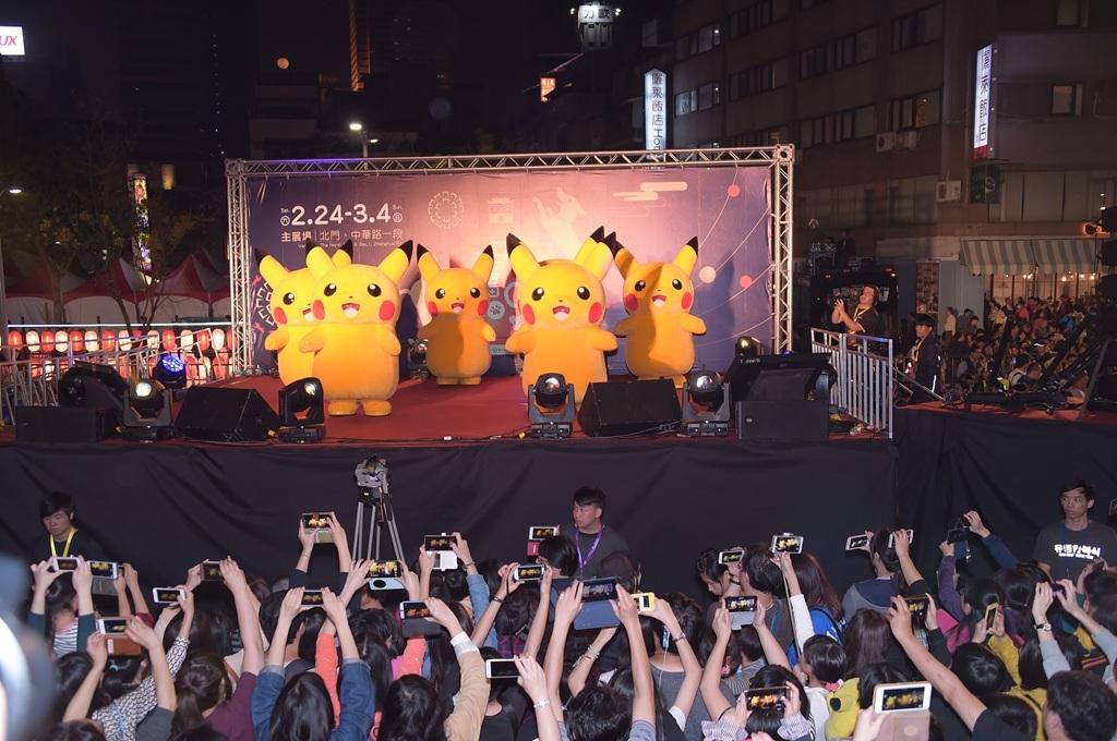 皮卡丘舞蹈表演  年度:2018  作者:劉佳雯