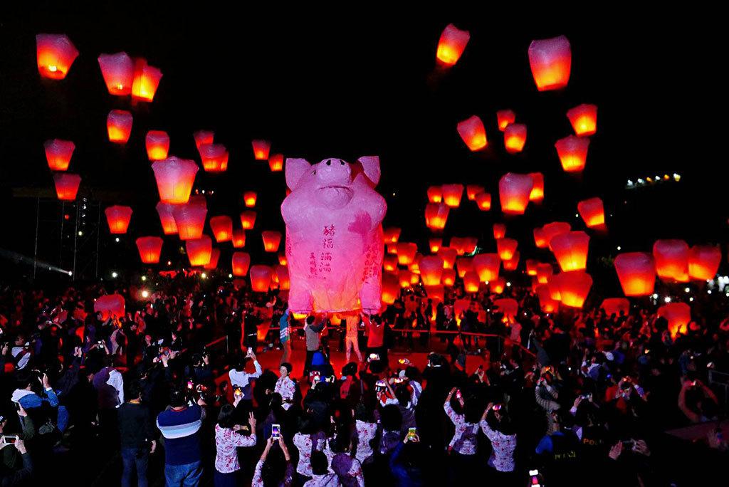 十分場-圓滿豬主燈  年度:2019  來源:新北市政府觀光旅遊局
