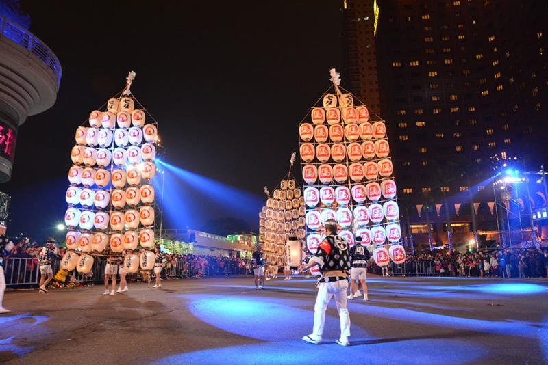 萬人提燈光之遊行「日本秋田竿燈」  年度:2018  來源:高雄市政府觀光局