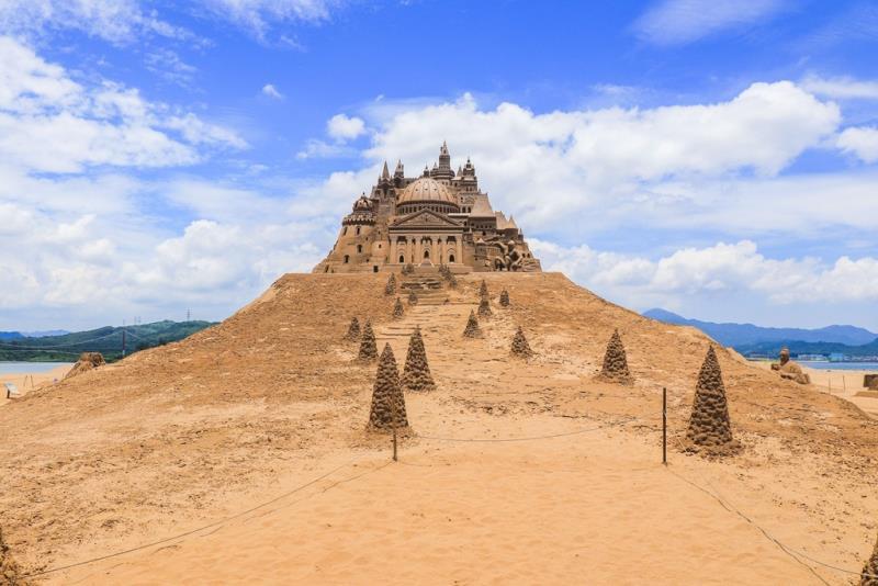 13米高金莎城堡為歷年最高  年度:2017