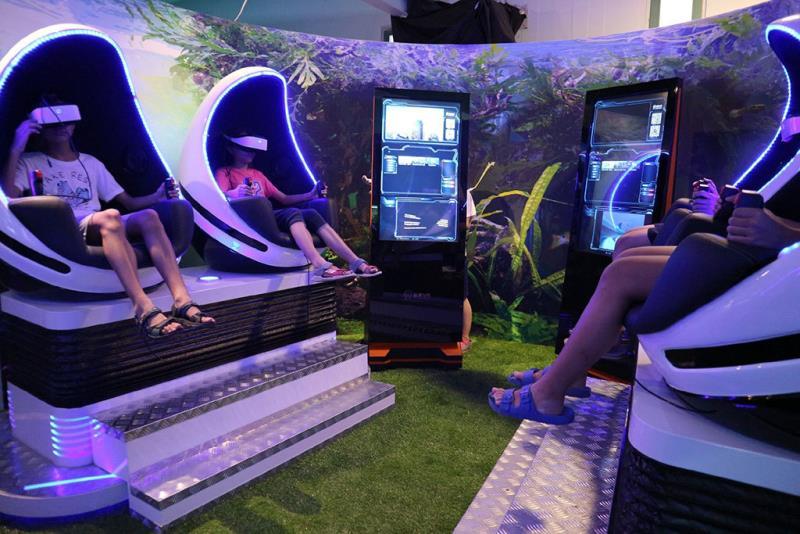 水玩堡-VR互動遊戲體驗  年度:2018  來源:宜蘭縣政府文化局