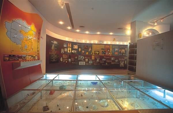 玻璃工藝博物館2樓歷史區