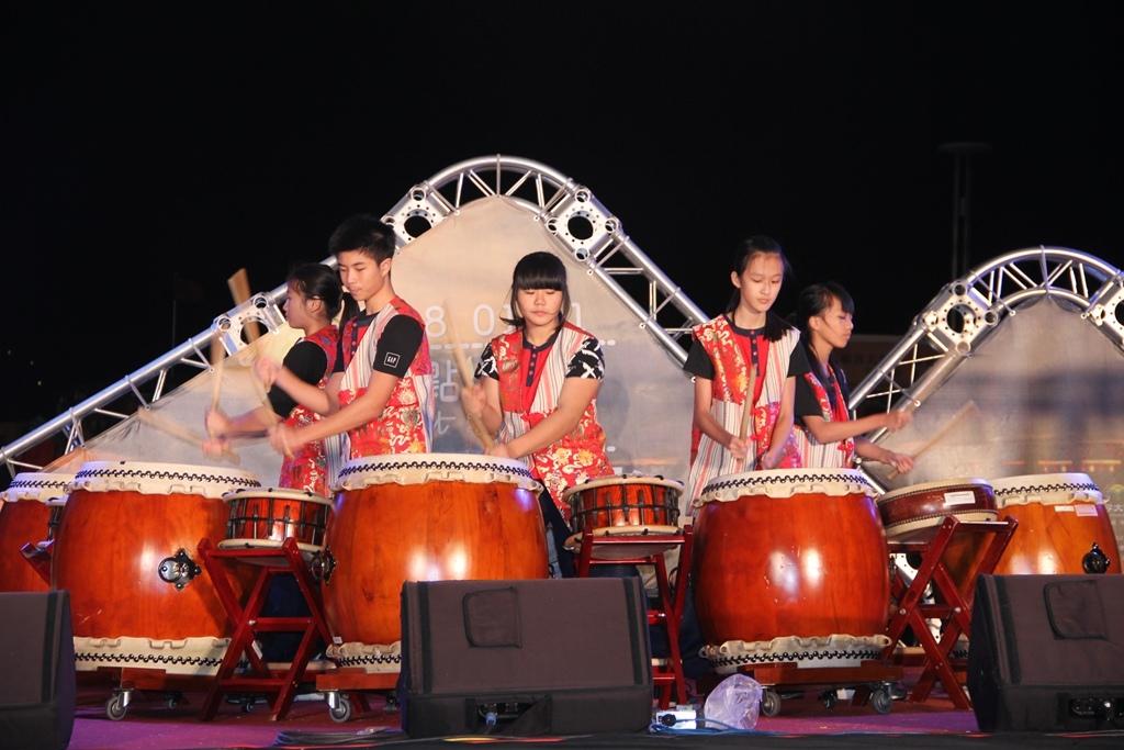 貢寮國中太鼓表演  年度:2018