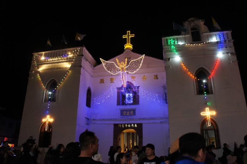 萬金聖母聖殿  年度:2017  來源:屏東縣萬巒鄉公所