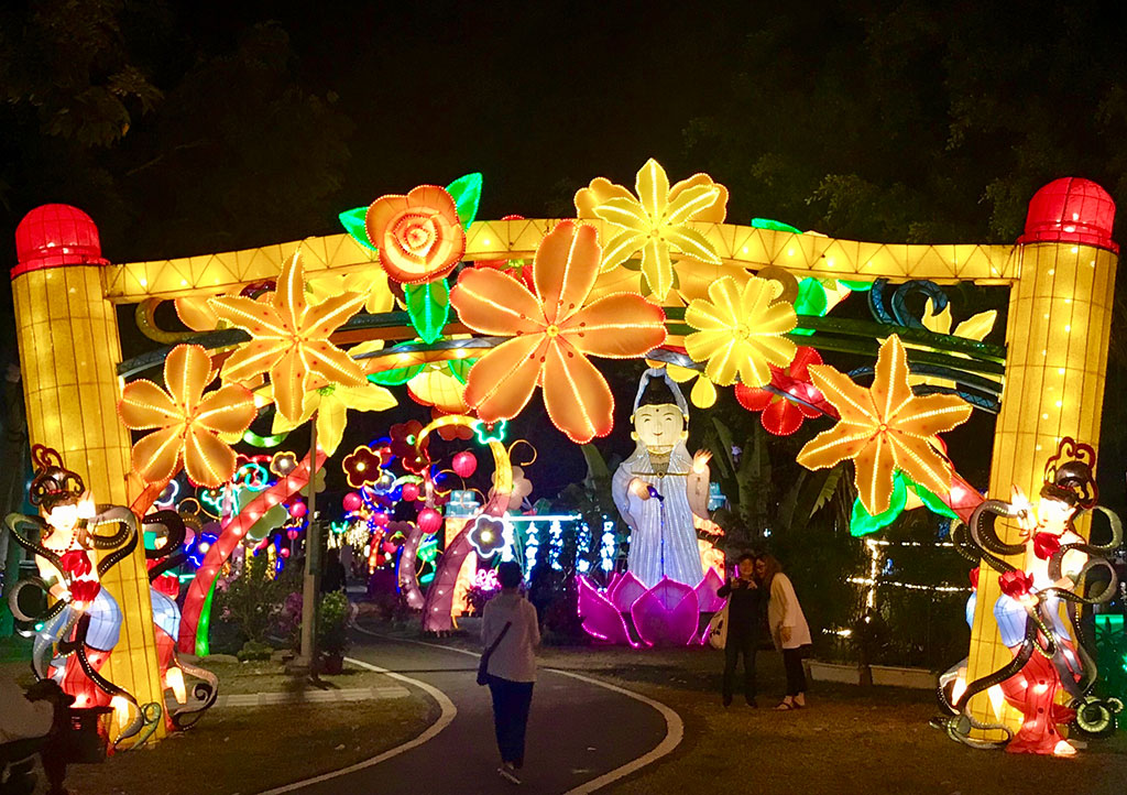 宗教祈福燈區  年度:2020  來源:高雄市政府觀光局