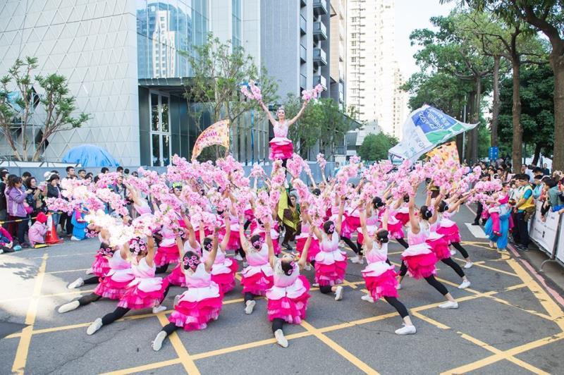 踩街-台南應用科技大學  年度:2017