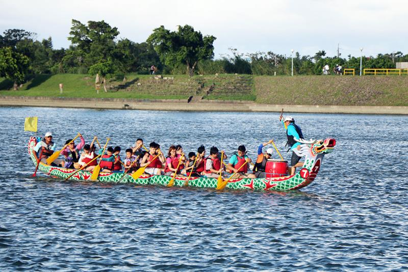 河域-龍舟體驗  年度:2018  來源:宜蘭縣政府文化局