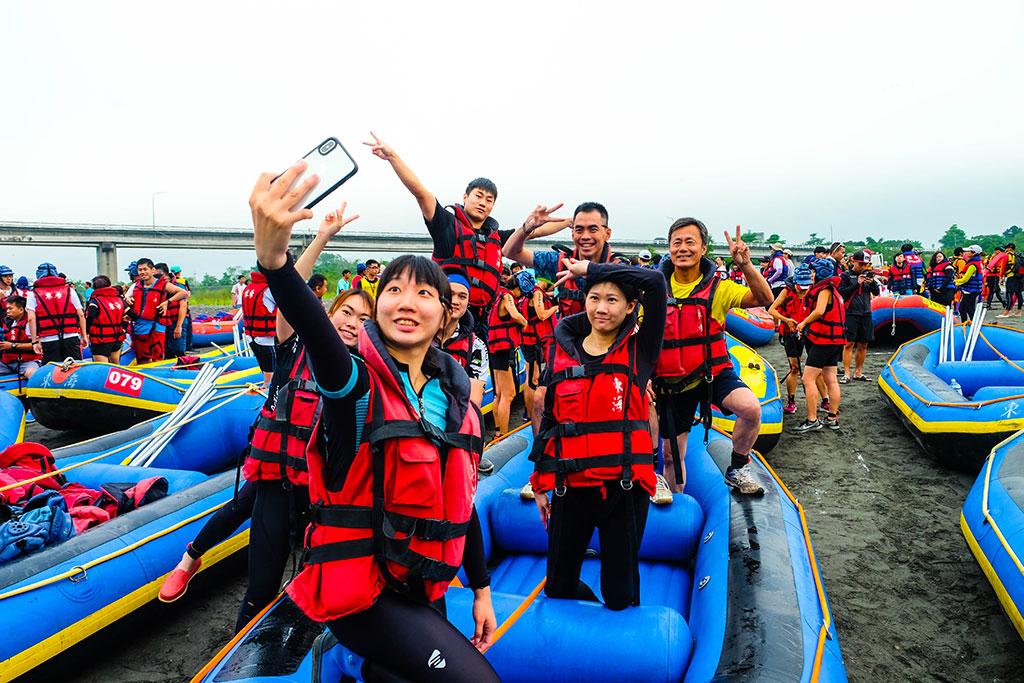 秀姑巒溪壯闊溪流景致、挑戰激流外,更能享受東台灣清涼一夏  年度:2019  來源:東部海岸國家風景區管理處