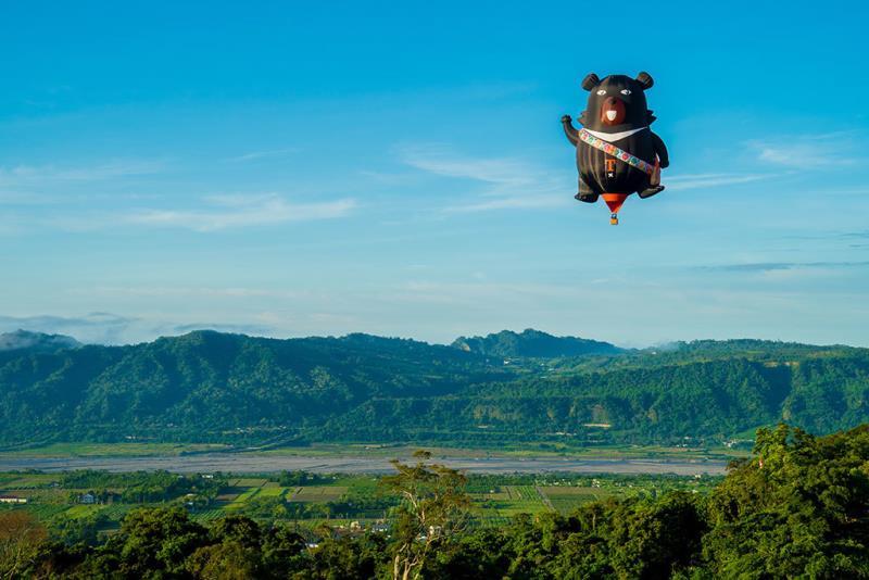 喔熊造型球自由飛  年度:2018  來源:臺東縣政府