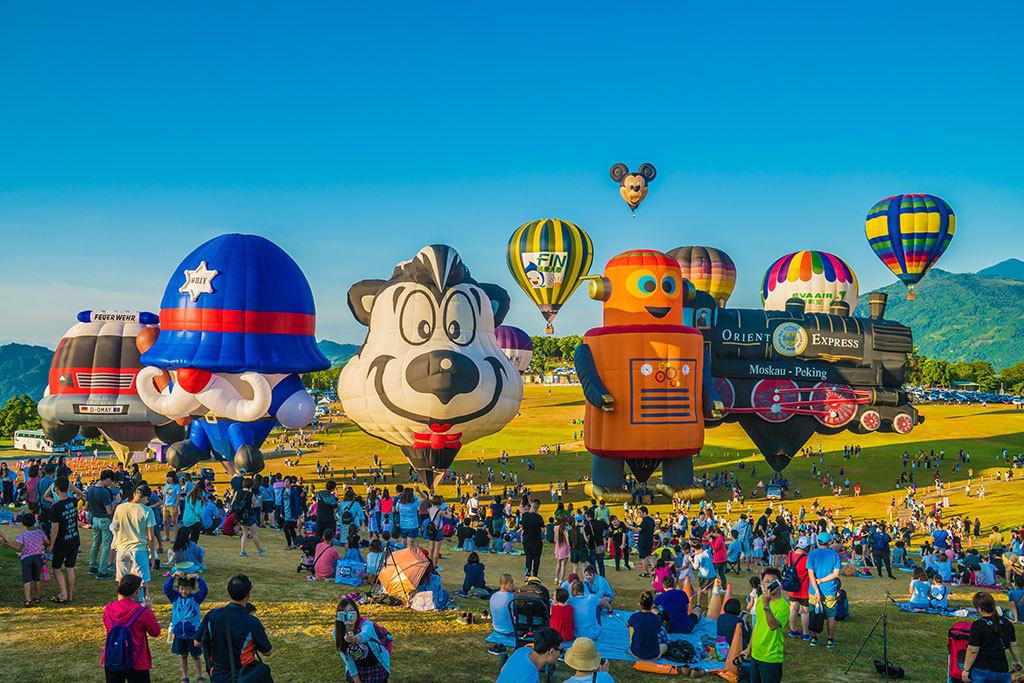 臺灣國際熱氣球嘉年華活動  年度:2018  來源:臺東縣政府