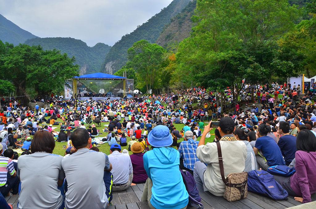 太魯閣峽谷音樂節吸引約7千人坐看峽谷聽音樂  年度:2019  作者:林茂耀  來源:太魯閣國家公園管理處