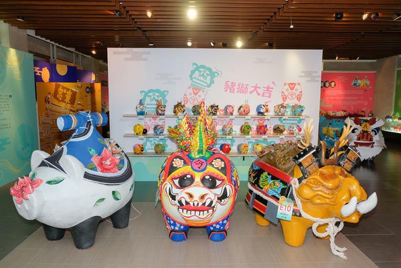 新竹縣縣史館-彩繪神豬裝置展  年度:2018  來源:新竹縣政府文化局