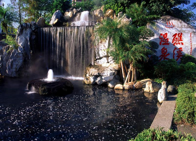 Jiaoxi Hot Spring  Origen de las fotografías:Yilan County Government