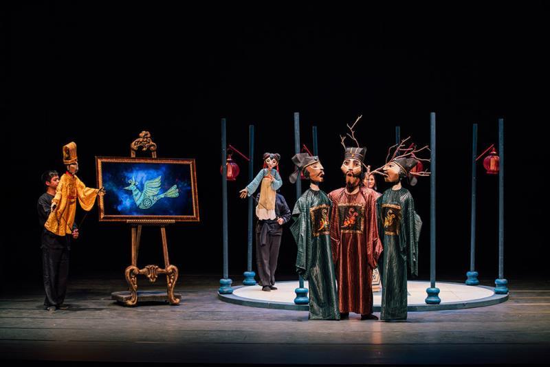 Puppet and Its Double《The Nightingale》  Período annual:2017  Fotografías:La-Feng  Origen de las fotografías:National Performing Arts Center