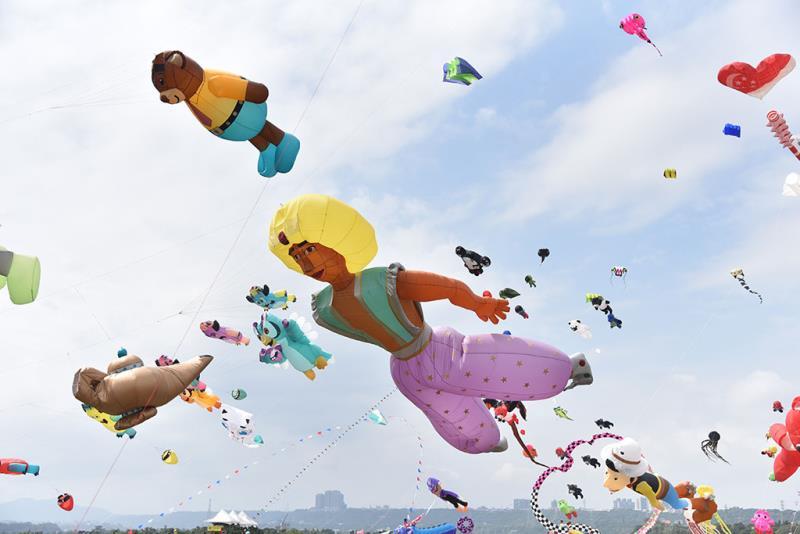 童話風箏-阿拉丁與神燈  年度:2019  來源:桃園市政府觀光旅遊局