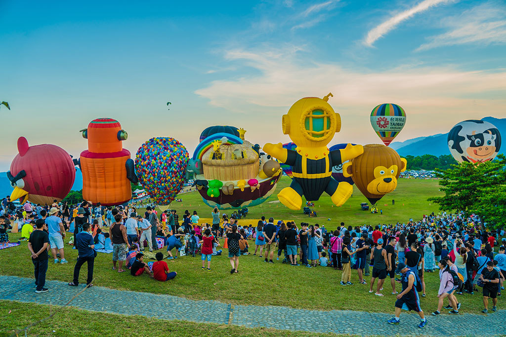 造型球展演  年度:2018  來源:臺東縣政府