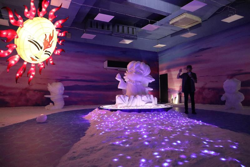 太陽神與鹽精靈  年度:2018  來源:雲嘉南濱海國家風景區管理處