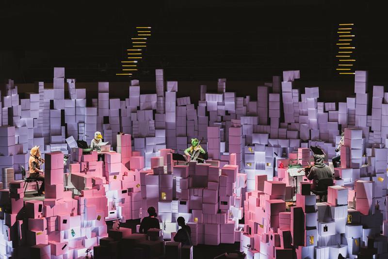 Ensemble KNM Berlin《Stereoscope》  Período annual:2019  Origen de las fotografías:Ministry of Culture