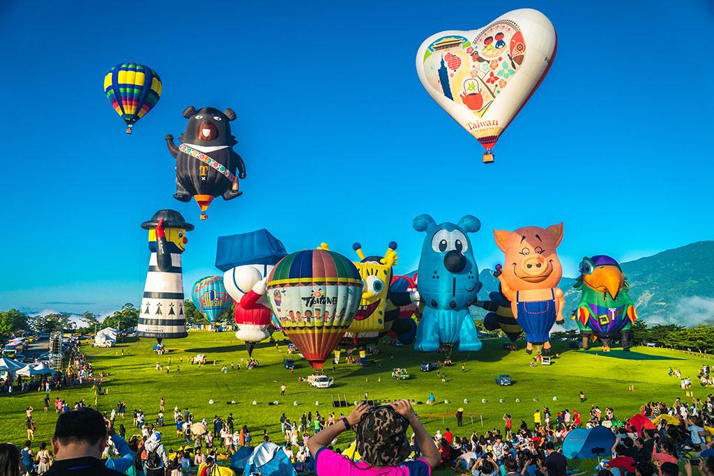 熱氣球幸運啟航  年度:2019  來源:臺東縣政府